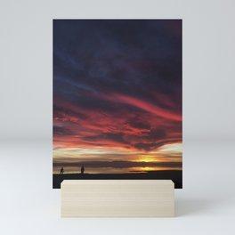 Winter at Salton Sea Mini Art Print