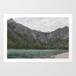 Avalanche Lake No. 3 - Glacier NP Art Print