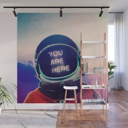Where You Are Wall Mural