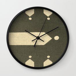 North by Northwest Wall Clock