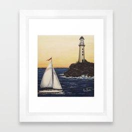 Safe Passage Framed Art Print