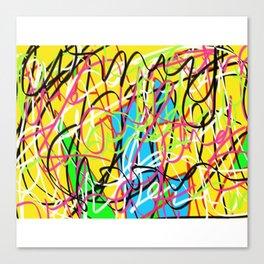 Damaged Property Canvas Print