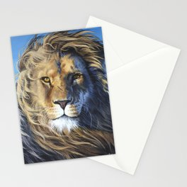The Lion of the Tribe of Judah Stationery Cards