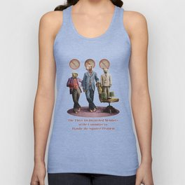 The Three Distinguished Members of the Committee to Handle the Squirrel Problem Unisex Tank Top