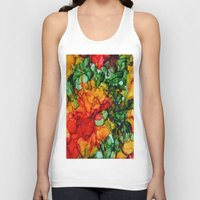 marley Tank Tops featuring Marley by Claire Day