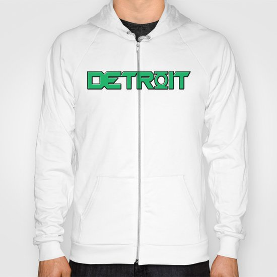 "Green Lantern - ""Detroit's Brightest Day"" - Light T-Shirts - 2012 Hoody"