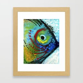 Tropical Fish - Colorful Beach Art By Sharon Cummings Framed Art Print