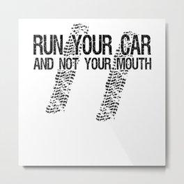 Motorsport Drag Racing Race Car Mechanic Fan Metal Print