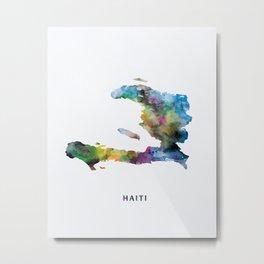 Haiti Metal Print
