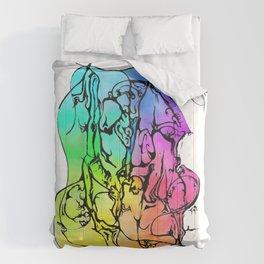 Hidden Dancer Comforters