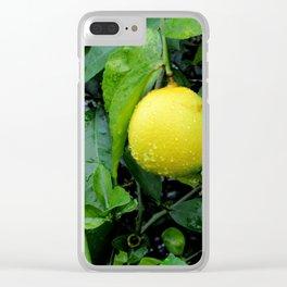 The Lemon Clear iPhone Case
