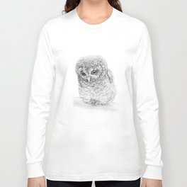 The African Wood Owl Long Sleeve T-shirt