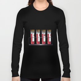 Blood Group Samples Long Sleeve T-shirt