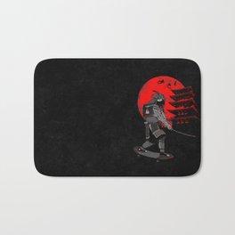 Skater Samurai Bath Mat