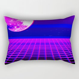 Once In A Neon Moon Rectangular Pillow