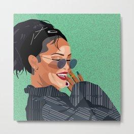 Rihanna // badgalriri // ANTI Metal Print