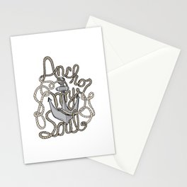 Anchor My Soul Stationery Cards