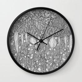Veggie Box Wall Clock