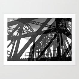 Mechanical Conundrum Art Print