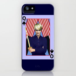 Claire - A Modern Lady Macbeth- Version 3 iPhone Case