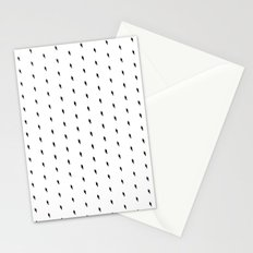 lightning bold pattern Stationery Cards