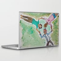 queer Laptop & iPad Skins featuring I LOVE US (Naturally Queer - Part 3) by StarkissCreations