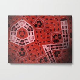 Difformed cityscape Metal Print