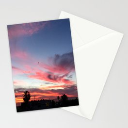 Summer Sunset Sky Stationery Cards