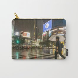 Shibuya Crossing Japan Carry-All Pouch
