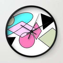 Objects Wall Clock
