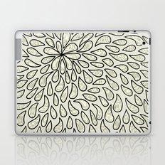 Pearlised Drops - Ivory Laptop & iPad Skin