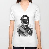 bdsm V-neck T-shirts featuring BDSM XVI by DIVIDUS