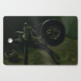 Spinning Wheel Cutting Board