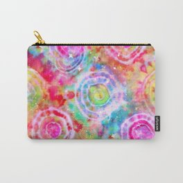 Rainbow Tie Dye Cosmos Carry-All Pouch