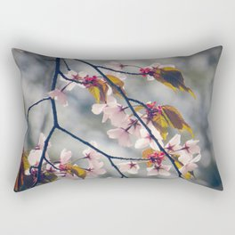 cherry blossom 02 Rectangular Pillow