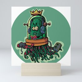 cucumber rookie player Mini Art Print