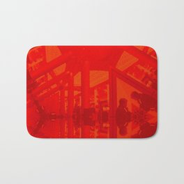 BoxHill-Red Bath Mat