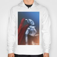 knight Hoodies featuring Knight by TuncayVural