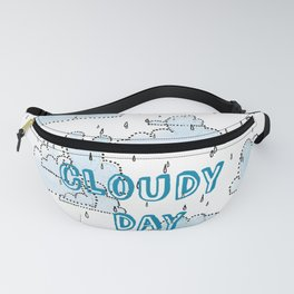 CLOUDY DAY Fanny Pack