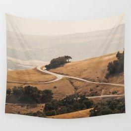 San Simeon Hills Wall Tapestry
