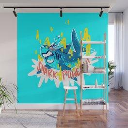SHARK POWER!!! Wall Mural