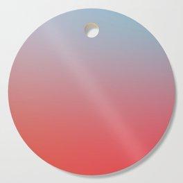 ALL GOOD THINGS - Minimal Plain Soft Mood Color Blend Prints Cutting Board