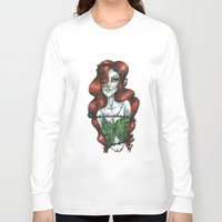 poison ivy Long Sleeve T-shirts featuring Poison Ivy  by Creative_little_artist