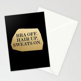 Bra Off Stationery Cards