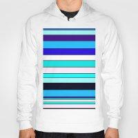 stripe Hoodies featuring Stripe by Mishu & Casco