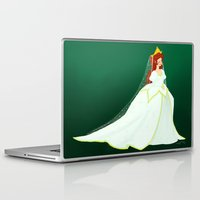 ariel Laptop & iPad Skins featuring Ariel by Delucienne Maekerr