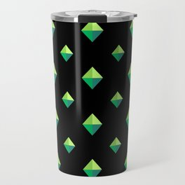 Emerald Diamonds Travel Mug