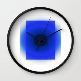 Blue Essence Wall Clock