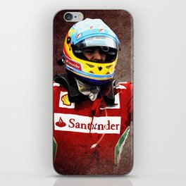 Magic Alonso iPhone Skin