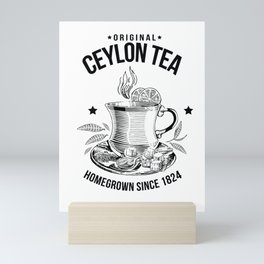 Original Ceylon Tea Mini Art Print